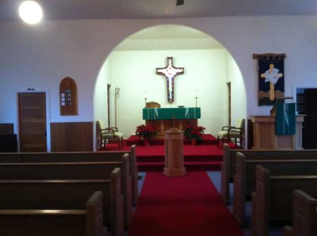 Sanctuary Grace Lutheran